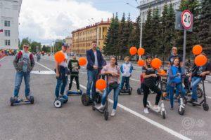 Парад электро-транспорта 2017